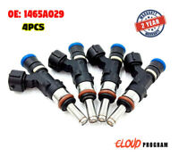 4 Pcs Fuel Injector 1465A029 Fit For Mitsubishi Lancer 2.0L l4 2008-2010