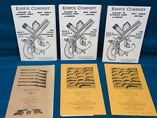 Lot of Six Vintage Gun Auction Catalogs From the 1980's, Super References