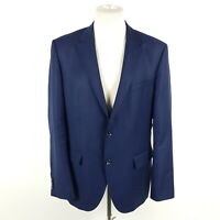 Tommy Hilfiger Tailored Sakko Butch-TS Herren Gr. 52 Blau Wolle Jackett
