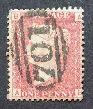 Duplex British Victorian Line-Engraved Stamps