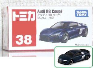 1/62 Tomica #38 Audi R8 Coupe TakaraTomy