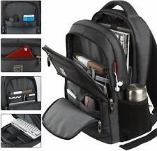 Mens Laptop Backpack Large Anti Theft Waterproof Travel Shoulder Bag Usb Port