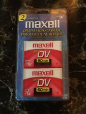 Maxell Mini DV Cassette 2 Pack (Brand New)