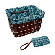 Electra Baskit Liner Brown/Navajo Inlay für Fahrradkorb, Wende Tasche Beute Bag
