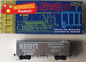 HO Scale Roundhouse Hershey's Chocolate 36' Reefer Built-up