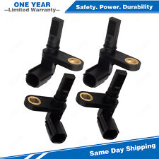 4x ABS Wheel Speed Sensor Front & Rear For 07-16 Toyota Tundra 4.0L 4.6 4.7 5.7L
