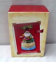 Keepsake Ornament 2004 Santa's Hula Day Animated Sound And Movement Christmas