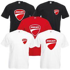 Camiseta de ducati para motocicleta jinete Varios Tamaños & Colores