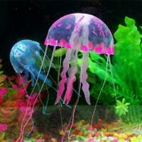 Glowing Jellyfish,Govine Glowing Jellyfish Aquarium Decorations For Fish Sa Y1L9