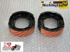 SUZUKI AS50 A80 A100 FM50 RV50 RV90 NEW FRONT AND REAR BRAKE SHOES JAPAN RACING