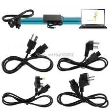 3-Pin Ac Power Cord Cable For Lenovo ThinkPad Ibm Dell Laptop Us/Uk/Eu/Au Plug