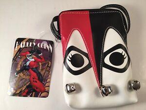 Comic Con DC Exclusive Classic Harley Quinn Purse Hand Bag Bioworld Batman Joker