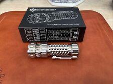 Mechforce Mechtorch Flaslight Titanium MINT!