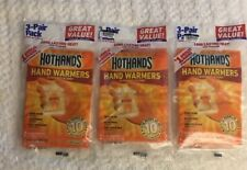 Lot Of 3 Hot Hands Hand Warmers 9 Pairs Expire 03/22