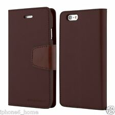 Genuine MERCURY Goospery Leather Wallet Case Cover for Apple iPhone 6/6s Plus