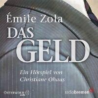 EMILE ZOLA: DAS GELD  2 CD  HÖRSPIEL  NEU