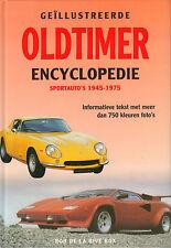 GEÏLLUSTREERDE OLDTIMER ENCYCLOPEDIE SPORTAUTO'S 1945-1975 - Rob de la Rive Box