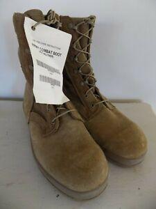 NEW Mens McRae Hot Weather Combat Boots Size 9.5 W Tan Vibram