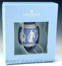 Wedgwood Jasperware Blue Icon 2010 Christmas Ornament Dancing Hours New in Box