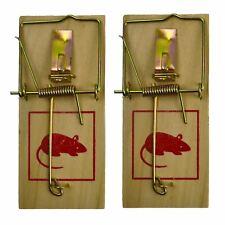 Hardwood Classic Mouse Trap Pest / Vermin Control 2pc Set SIL246