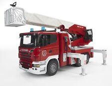 BRUDER Emergency series - 03590 SCANIA R-Series Fire engine w/water pump & L&S