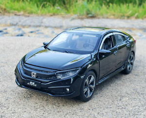 1:32 Scale Diecast Alloy Sound&Light Vehicle Car Model Kids Toy For Honda Civic
