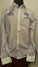 Men's La Martina Button Down Shirt Stripe  Sz. XXL