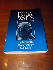 India Waits by Jan Myrdal - Photographs by Gun Kessle