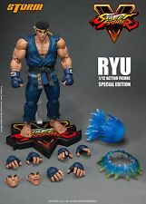 Storm Collectibles RYU BLUE Street Fighter Special Ver 1/12 Figure In STOCK