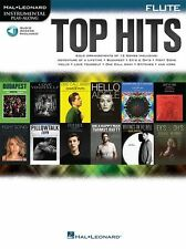 PlayAlong Top Hits Play Elle King ADELE POP Chart FLUTE MUSIC BOOK Online Audio