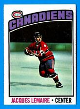 1976-77 Topps JACQUES LEMAIRE (ex+) Montreal Canadiens