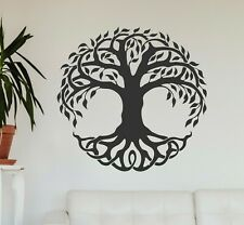 The Tree of Life Wall Decal, Vinyl Wall Sticker, Camper Decal Gift Present Decor