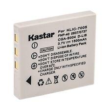Kastar Rechargeable Battery for Fuji NP-40 F402 F403 F455 F460 Kodak KLIC-7005