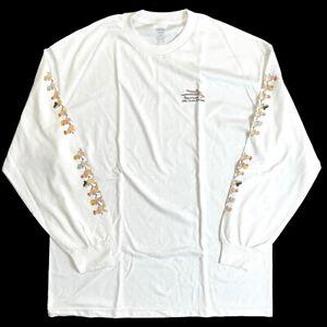 Porous Walker x Lakai XL LS Authentic T-Shirt DEADSTOCK - antihero francis sachs