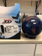 New Columbia 300 Eruption Pro Blue Bowling Ball 16#