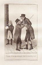 John Kay Grabado Original Antigua. el Sr. Francis Anderson, W.S., señor James.., 1802