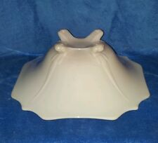 Cambridge Crown Tuscan Charleton 3400 Glass Bowl Pink handpaint is all worn off