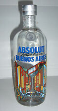 Absolut vodka buenos aires 750ml City Limited Edition full and sealed
