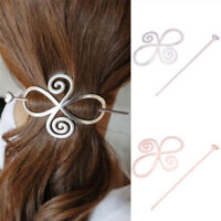 Barrette Shawl Pin Hair Accessories Bun Holder Hairpin Long Hair Slide Clip B Dh