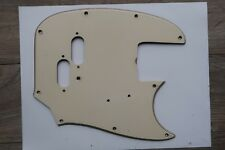1965 Fender Mustang Bass Celluloid Pickguard 66 67 68 69 70 71 60's Nitrate USA