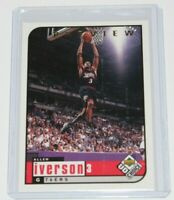 1998-99 Upper Deck UD Choice Preview Allen Iverson #105 🔥Super Sharp Card🔥