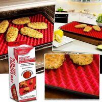 10pcs Pyramid Pan Non Stick Reduce Fat Silicone Cooking Mat Oven Bake Tray Sheet