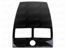 07-15 CARBON FIBER CENTER CONSOLE COVER 1 HOLE MOUNT PANEL FOR ASTON MARTIN V8