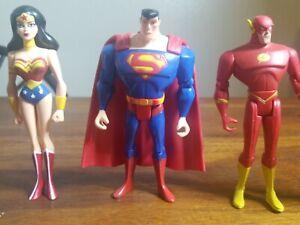 Justice league unlimited action figures lot