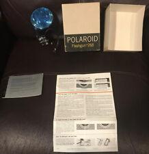 Polaroid 268 Flashgun Color Pack Film Cameras 100 220 225 230 240 250 340 350