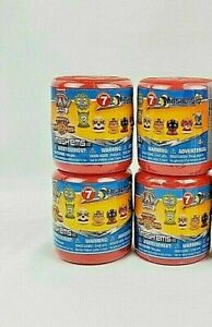 Lot of 4 Paw Patrol Mighty Pups Super Paws Mashems Series 7 NEW