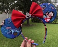 Walt Disney World Disneyland Lilo And Stitch Mickey Minnie Ears