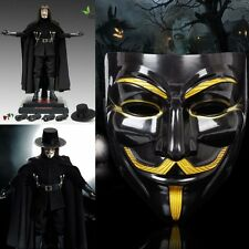 V for Vendetta Mask Anonymous Guy Fawkes Fancy Dress Fancy Costume cosplay Vivid