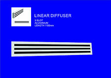 Premium Quality, Aluminium Linear/ Grill / Air Vent / Diffuser / Ducted Air cond