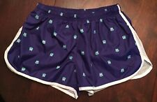 Women's PONY M Blue Owls Athletic Running Gym Fitness Shorts w/ Waist Drawstring